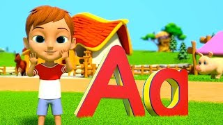 ABC for Kids | Phonics Song | Kindergarten Learning Videos & Nursery Rhymes - Little Treehouse