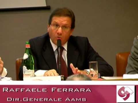 GIOCO,ERGO SUM: Raffaele Ferrara, DG Aams
