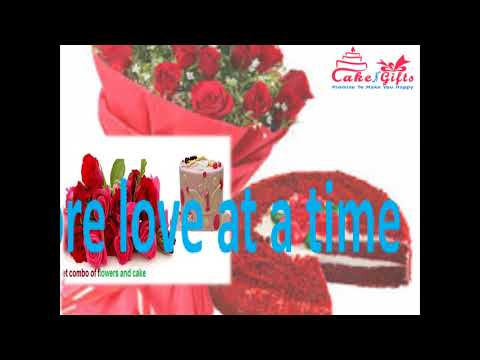 Get great occasional cake services at CakenGifts.in