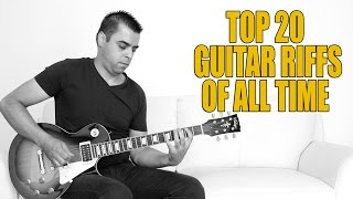 Top 20 Guitar Riffs of All Times
