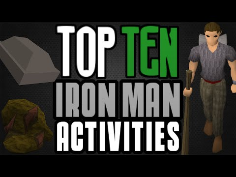 Top 10: Iron Man Activities and Tips! [Runescape 2014]
