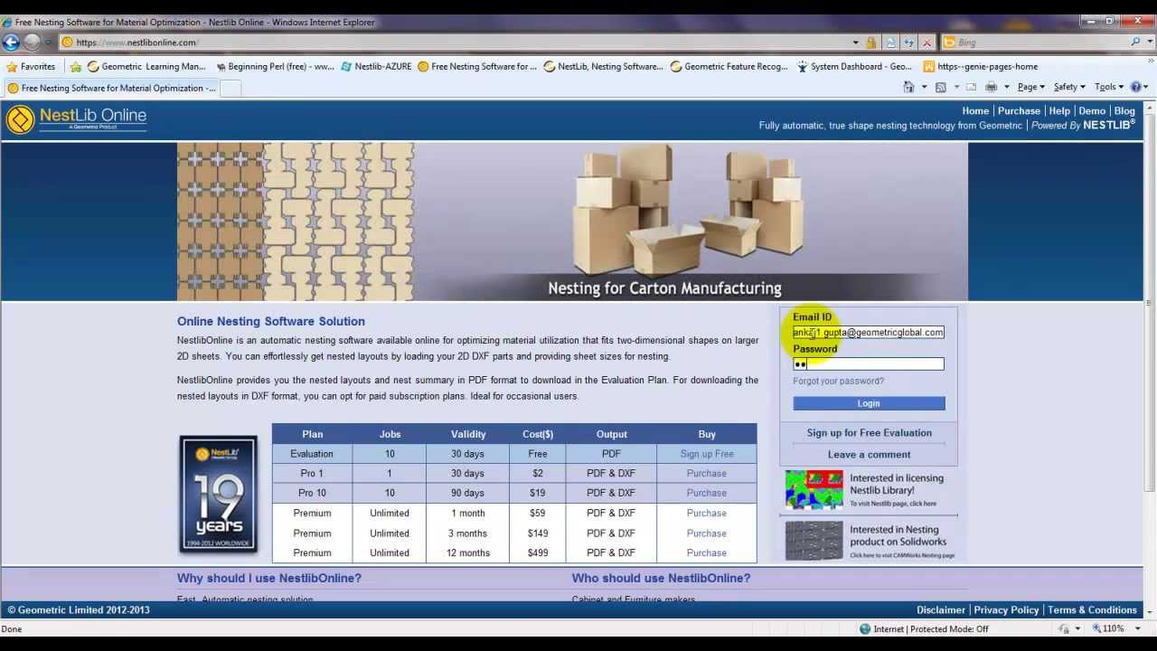 NestLib Online -- Free Nesting Software for Material Optimization - YouTube