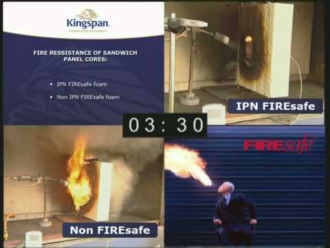 Kingspan Fire Safe Sectional Overhead Door Panels
