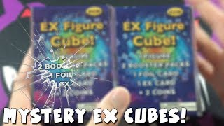 NEW MYSTERY BOXES FROM TARGET?! | OPENING 2 POKEMON MYSTERY EX CUBE BOXES!
