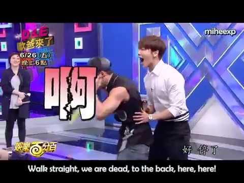 [ENG SUB] Donghae imitates Eunhyuk & Kyuhyun
