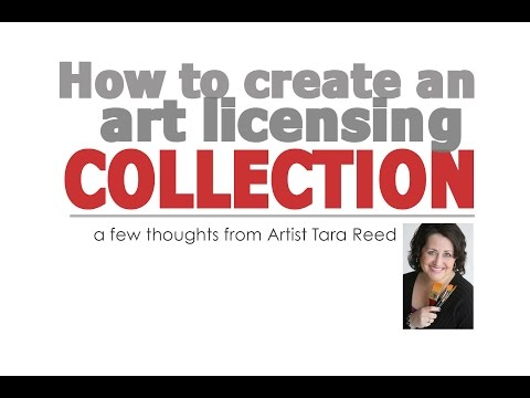 How to Build an Art Licensing Collection
