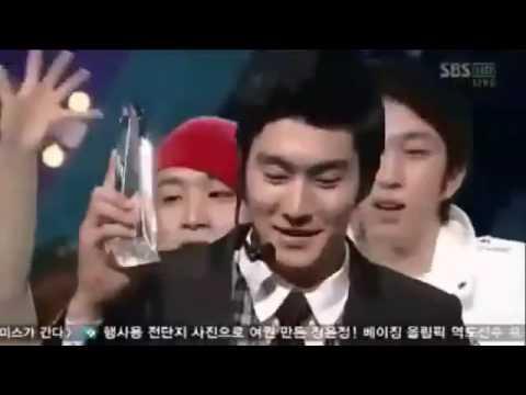 super junior   sorry sorry win ( leeteuk say ki bum we win ) :)