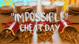 "MCDONALD'S ""IMPOSSIBLE"" BIG MAC CHALLENGE CHEAT DAY"