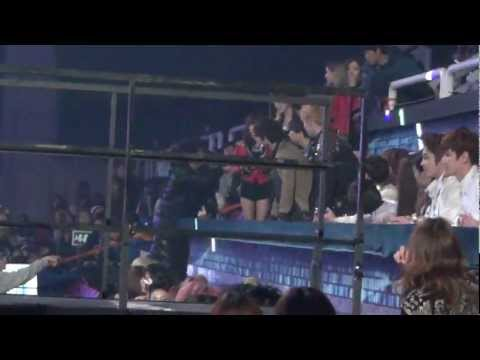 20121229 Cast Seat @ SBS Gayo Daejun