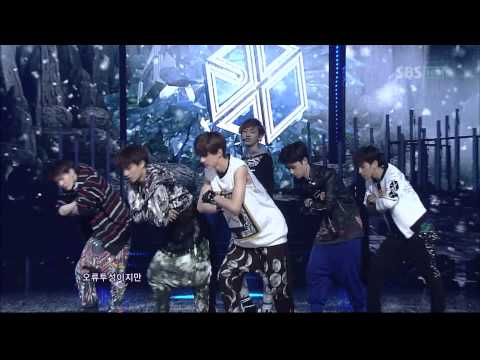 [HQ]120408 EXO-K - History Debut Stage