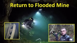 Mine Diving with Ben o Cam. Pushing deeper and further into an abandoned Cornish flooded tin mine.