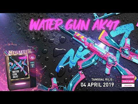 Nova AK47 Balão de água