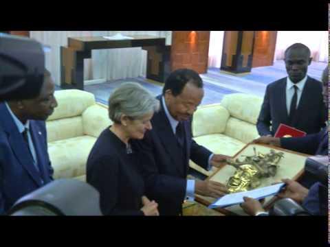 Visite du DG UNESCO au Cameroun