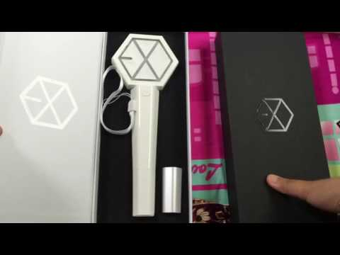 [UNBOXING] EXO Lightstick Ver 2.0 vs Ver 1.0