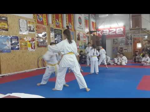 Аттестационный экзамен 29.05.2016 г. по каратэ в клубе Тигренок ч 7