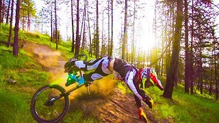 BEST OF CRASH AND FAILS DOWNHILL [HD]
