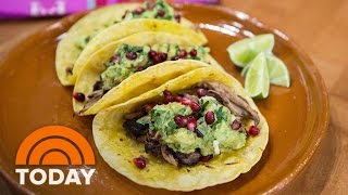 Pomegranate Short Ribs And Guacamole Tacos: Try Pati Jinich's Recipe | TODAY