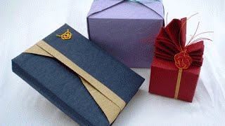 How to do a Japanese Gift Wrap 2017 Latest