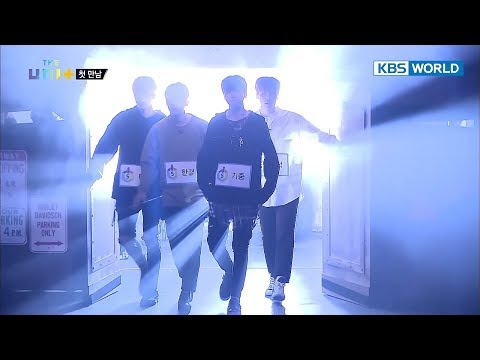 Male contestants' first encounter! Order of entrance by # of Boots [The Unit/2017.12.21]