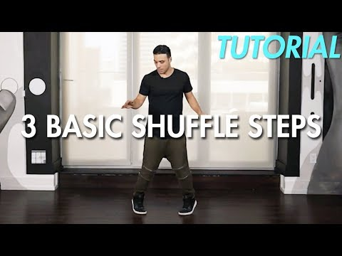 How to do 3 Basic Shuffle Steps (Shuffle Dance Moves Tutorial) | Mihran Kirakosian
