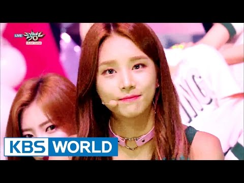 LABOUM - AALOW AALOW / Shooting Love | 라붐 - 아로아로 / 푱푱 [Music Bank / 2016.09.02]