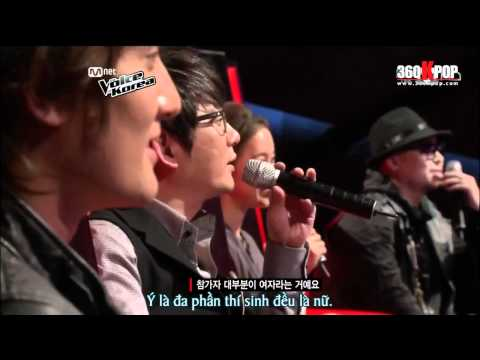 [Vietsub] The Voice of Korea Ep 04 P6/6 [360Kpop.com]