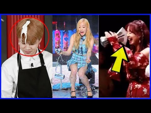 「FUNNY」KPOP IDOLS CLUMSY & FAILS MOMENTS COMPILATION