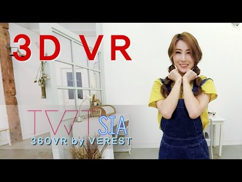 [3D 360 VR] Lovely girls Tweety 'Sia' by (Verest) 360 VR