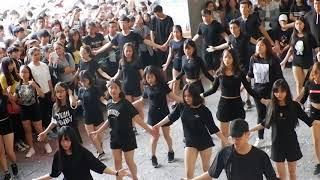 Sinh viên Khoa QTKD Đại học Duy Tân nhảy Despacito Khuấy động ngày Hội chào đón Tân SV Khóa 23