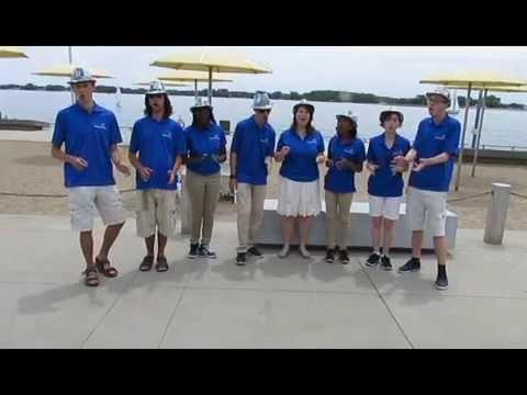 Waterfront Singing Ambassadors  - Cecilia by Simon and Garfunkel