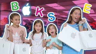 I'LL BUY EVERYTHING AT THE APPLE STORE THAT STARTS WITH THE LETTERS IN YOUR NAME! It's R Life