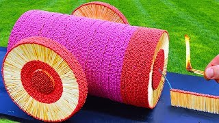 Colorful Match Cannon!