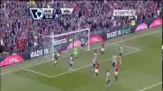 Manchester United vs West Brom. 1-2 Goals and Highlights (28.09.13)