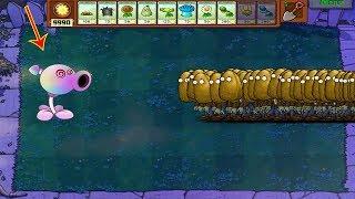 Plants vs Zombies Hack - Peashooter Hypno vs 999 Zombie Tall-nut