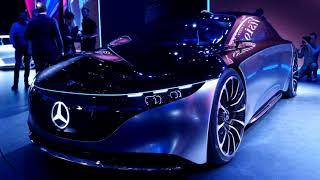 The New 2022 Mercedes - Benz EQS (Spaceship!?)