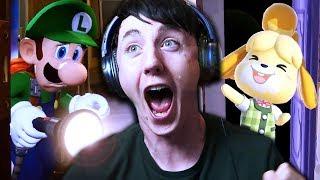 I LOVE YOU NINTENDO!!! | Animal Crossing Switch & Luigi's Mansion 3 Nintendo Direct Reaction