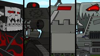 Все серии подряд - Сборник Мультики про танки