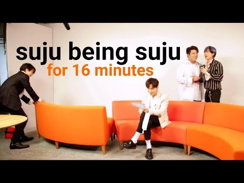 suju being suju for 16 minutes / a loud suju compilation