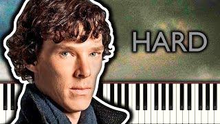BBC SHERLOCK THEME - Piano Tutorial