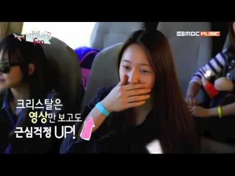 130528 Taemin told Krystal to skydive