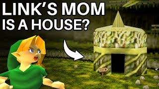 How Link's Mom Turned into a House in Ocarina of Time (Zelda)