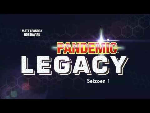 Pandemic Legacy NL - Release 8 oktober Spiel Essen