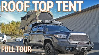 Ultimate Roof Top Tent | Overland Truck Camper
