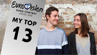 Eurovision 2019: MY TOP 13 SO FAR