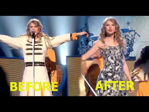Singers Outfit Changes while Performing
