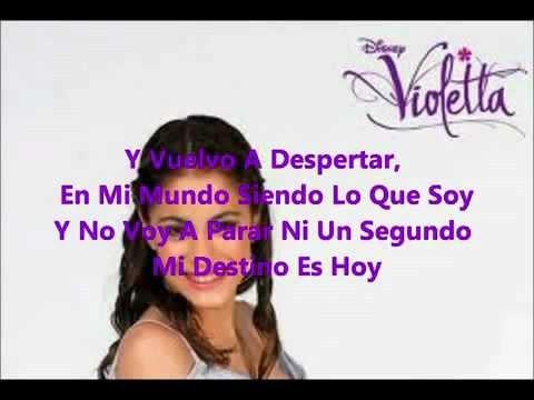 Baixar En Mi Mundo   Violetta Letra Martina Stoessel   YouTube