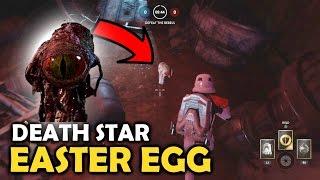 Star Wars Battlefront - Dianoga in Trash Compactor - Death Star DLC Easter Egg