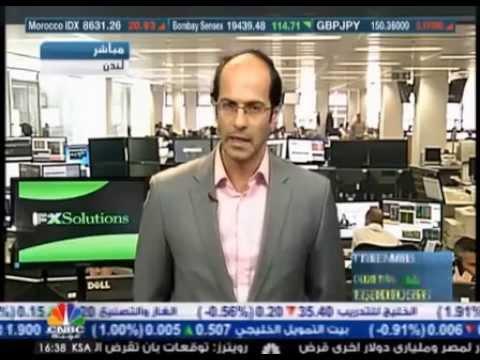 أشرف العايدي على سي ان بي سي العربية --  9 يوليو2013 Chart