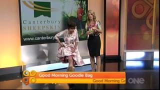 Marta from Good Morning wears our Artica boots.