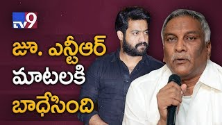 Tammareddy Bharadwaja reacts to Jr NTR comments on Film Cr..